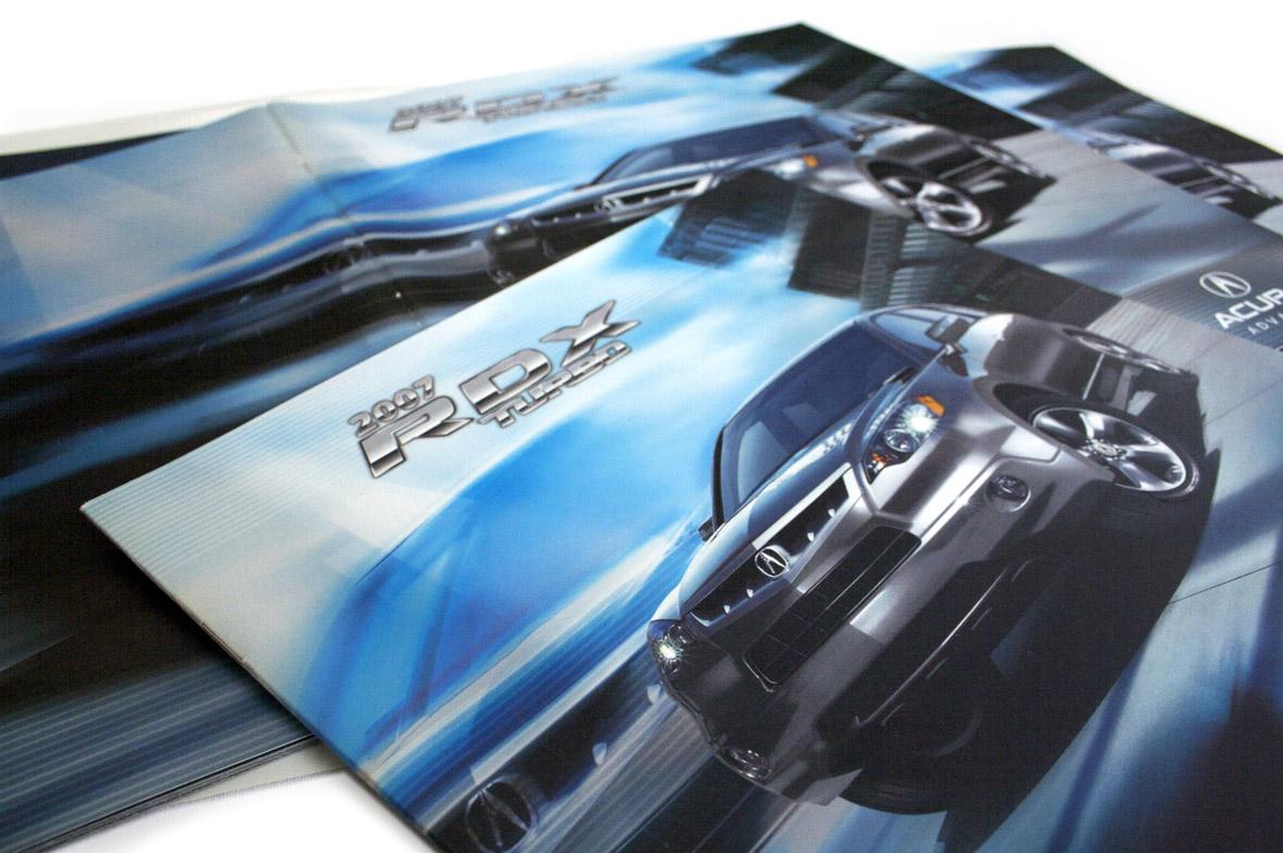 Portada Brochure Acura RDX